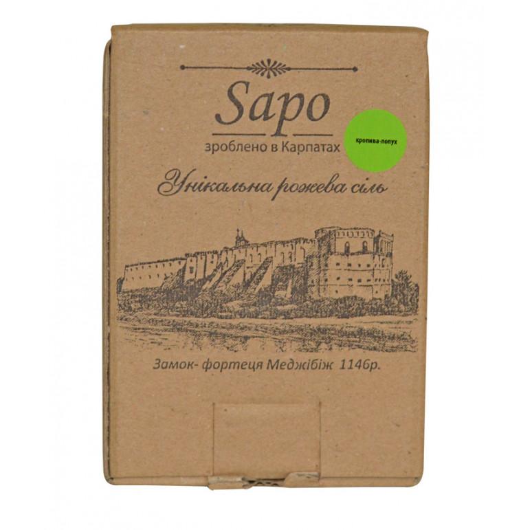 """Сіль для ванни """"Кропива-лопух"""" 250 гр"""