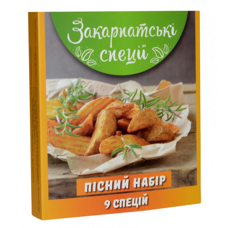 """Закарпатські спеції """"До картоплі та салатів"""" 270 гр"""