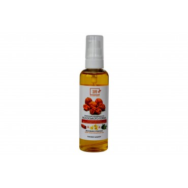 Олія ВОЛОСЬКОГО горіха з екстрактом кориці, ефірною олією іланга та бергамота, 100 мл