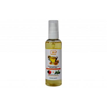Натуральна олія для тіла рицинова з ефірною олією герані та неролі