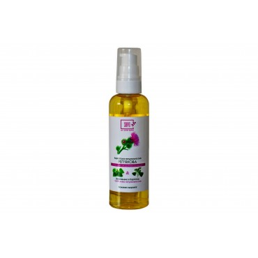 Реп'яхова олія з екстрактом кропиви та лопуха