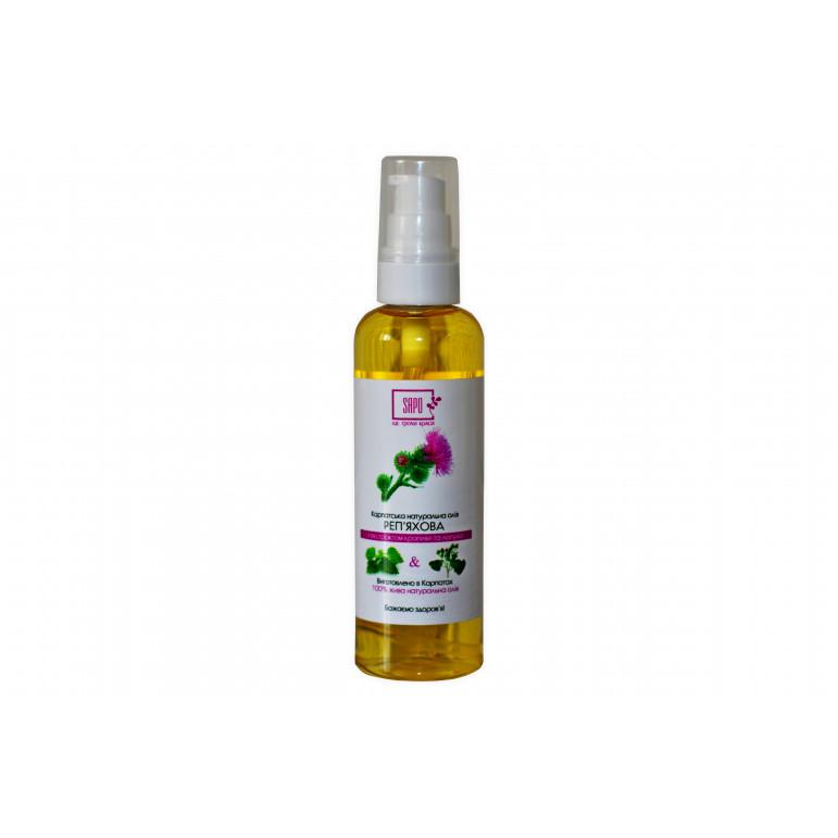 Реп'яхова олія з екстрактом кропиви та лопуха, 100 мл