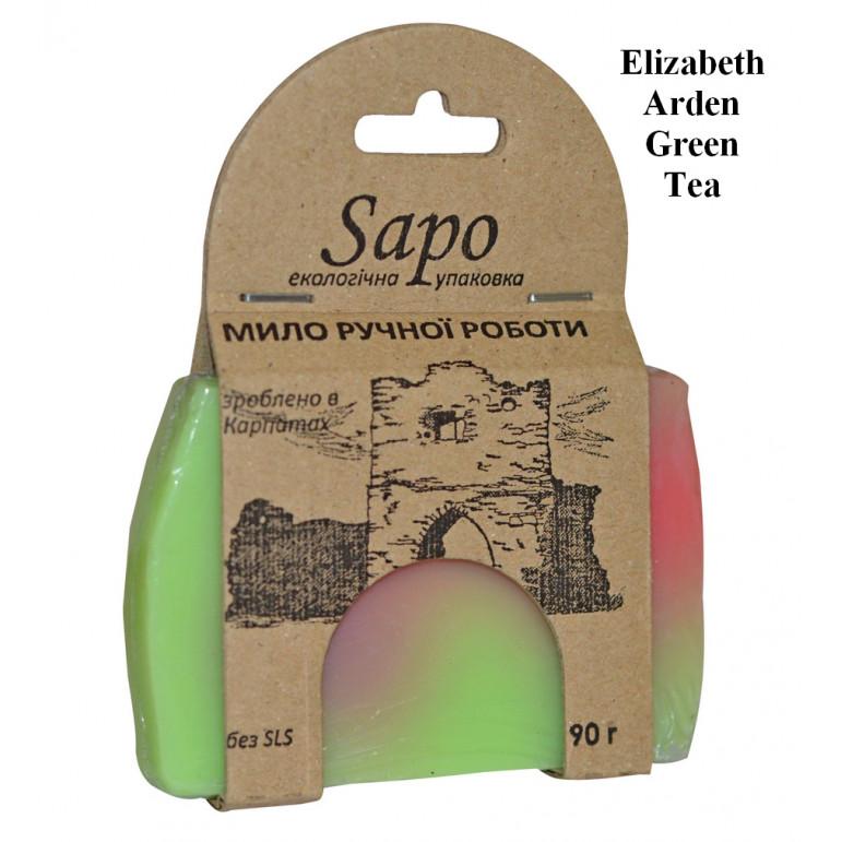 "Мило натуральне парфумоване Elizabeth Arden ""Green Tea"" (Woman) 90 г"