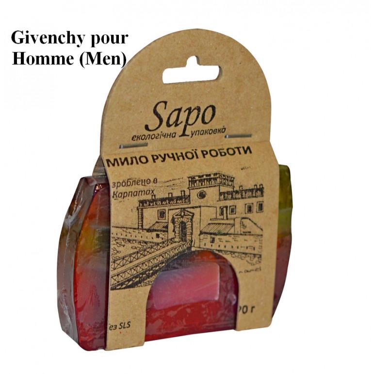 Мило натуральне парфумоване Givenchy pour Homme (Men) 90г