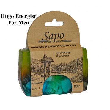 Мило натуральне парфумоване Hugo Energise For Men 90г