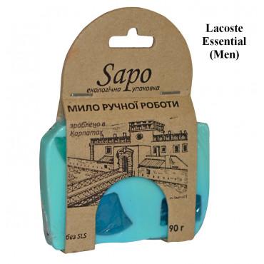 Мило натуральне парфумоване Lacoste Essential (Men) 90г