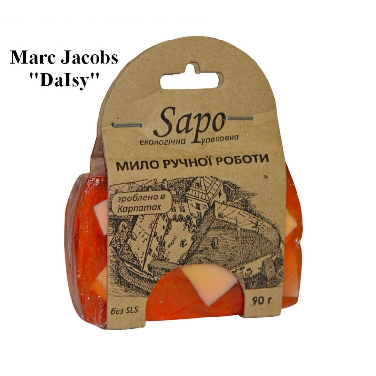 "Мило натуральне парфумоване Marc Jacobs ""DaIsy"" (Woman) 90 г"