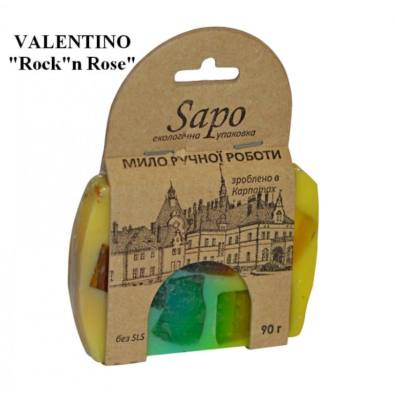 """Мило натуральне парфумоване VALENTINO """"Rock""""n Rose"""" (Woman) 90 г"""