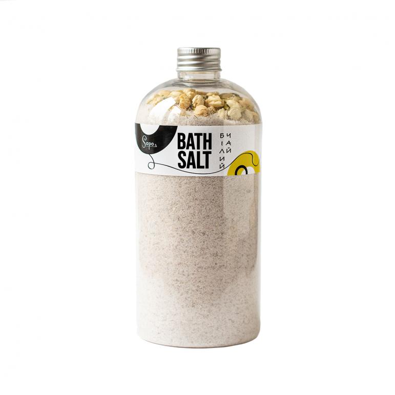 Сіль для ванни з травами «Білий чай»