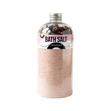 Сіль для ванни з травами «Троянда»