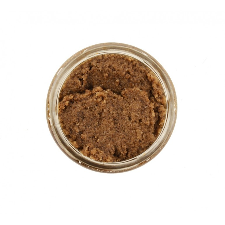 "Натуральний соляно-цукровий скраб для тіла ""Кава і шоколад"" 350 г"