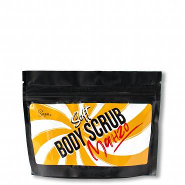 Натуральний цукровий скраб для тіла з кокосовою олією - Манго