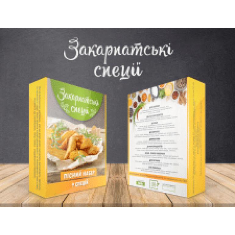 """Закарпатські спеції """"До картоплі та салатів"""""""