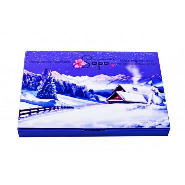 "Подарунковий набір мила ""Зима в Карпатах"", 200 гр (4 мила)"
