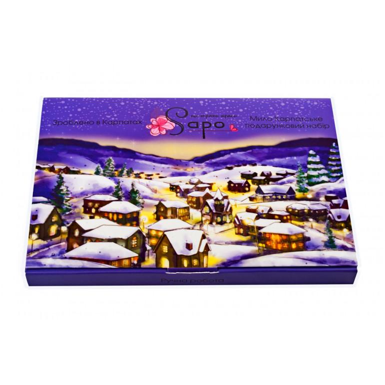 """Подарунковий набір мила """"Різдво"""", 200 гр (4 мила)"""